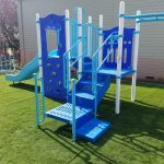 Playground synthetic turf