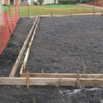Curbing for artificial turf